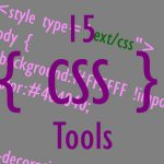 15 CSS Tools