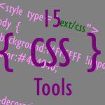 15 CSS Tools